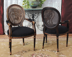 Nayar - Chaise style louis xvi moderne ...