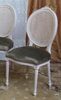 Chaises medaillon de chez nayar chaise baroque chaise for Chaise medaillon cuir