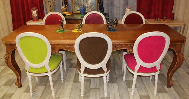 Fabricant chaise m daillon haut de gamme 119 - Chaises de style ...