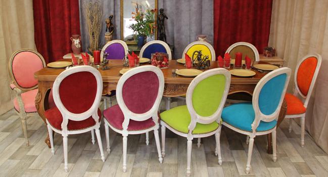 Fabricant chaise m daillon haut de gamme 119 - Chaise de couleur design ...