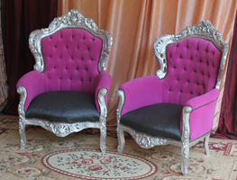 fauteuil bergere baroque