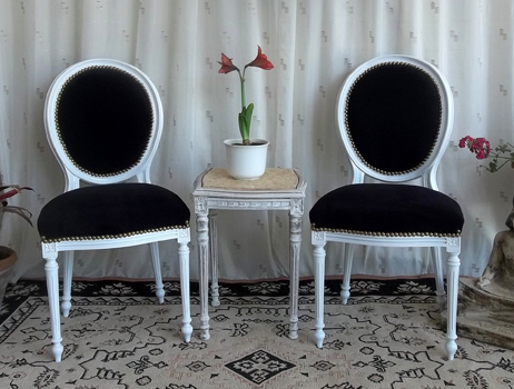 les meubles nayar fabricant de chaises m daillon de style louis xvi. Black Bedroom Furniture Sets. Home Design Ideas