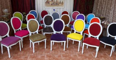 Les Meubles Nayar Fabricant De Chaises Medaillon De Style Louis Xvi