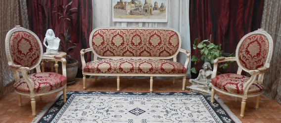 Fabricant fauteuil chaise canap m ridienne berg re cabriolet jacob louis xv xiv - Salon louis xvi ...