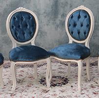 Louis Sur Chaises Medaillon Baroque Xvi Mesure Style F15KTc3uJl