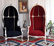 fauteuil corrosse style baroque