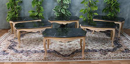 Nayar table basse de style louis xv louis xvi et baroque sur mesure - Table basse style louis xv ...