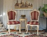 chaise baroque style louis XV