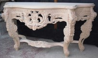 console baroque style louis XV