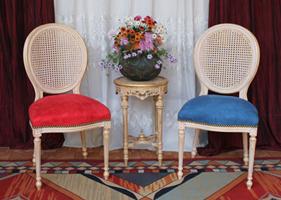 Chaises m daillon sur mesure - Chaise style louis xvi moderne ...