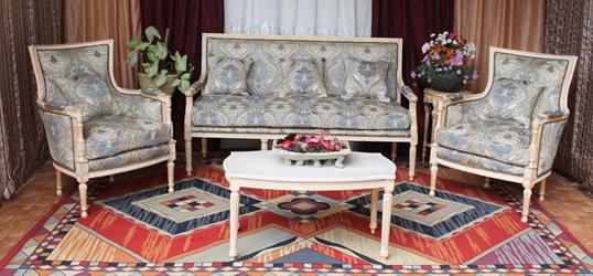 nayar fabricant salon de style. Black Bedroom Furniture Sets. Home Design Ideas