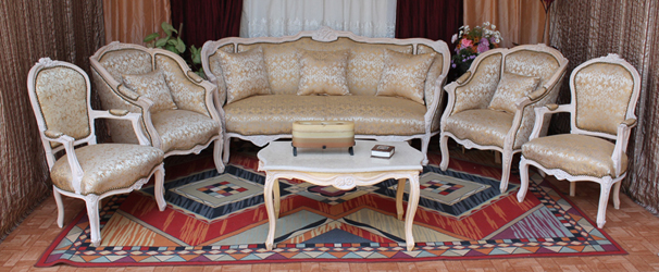 salon marquise canape bergere fauteuil louis XV