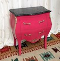 commode louis rouge