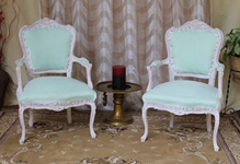 carcasse fauteuil baroque