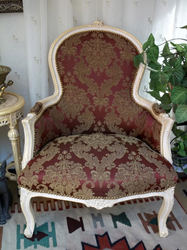 fauteuil bergere style louis XV