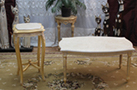 sellette louis XV table basse louis XVI dore