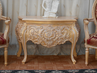 Commode baroque dore de Style Louis XV