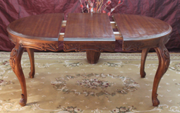 table allonges louis XV ovale ronde nayar