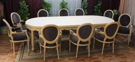 Nayar Fabricant Table De Style Sur Mesire - Salle a manger louis 16