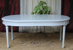 table allonges louis XVI ovale ronde nayar